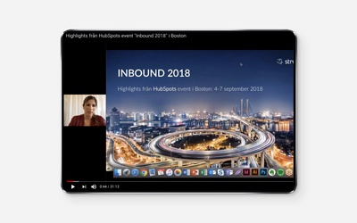 Highlights från Boston - Inbound 2018