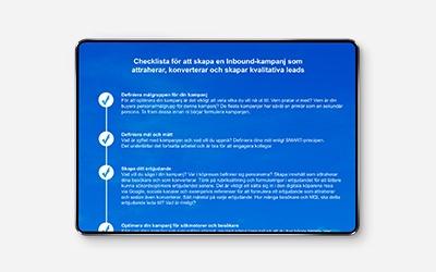 Skapa en Inbound-kampanj - steg för steg